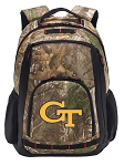Georgia Tech RealTree Camo Backpack