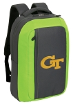 Georgia Tech SLEEK Laptop Backpack Green
