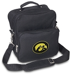 University of Iowa Small Utility Messenger Bag or Travel Bag