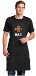 Iowa State Dad Large Apron