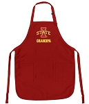 Iowa State Grandpa Aprons Red