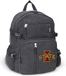 Iowa State Canvas Backpack Black