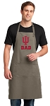 Indiana University Dad Large Apron Khaki