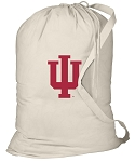 Indiana University Laundry Bag Natural