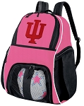 IU Indiana University Girls Soccer Backpack