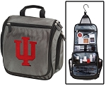 Indiana University Toiletry Bag or IU Shaving Kit Gray
