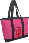 Deluxe Pink Indiana University Tote Bag