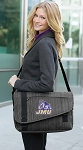 JMU Messenger Laptop Bag Stylish Charcoal