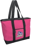 Deluxe Pink James Madison University Tote Bag