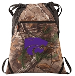 Kansas State RealTree Camo Cinch Pack