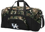 Official University of Kentucky Camo Duffel Bags