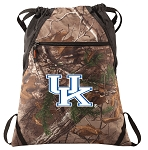 Kentucky Wildcats RealTree Camo Cinch Pack