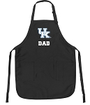 Official University of Kentucky Dad Apron Black