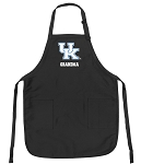 Official University of Kentucky Grandma Apron Black