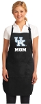 Official University of Kentucky Mom Apron Black