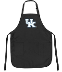 Official University of Kentucky Apron Black