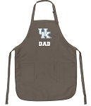 Official Kentucky Wildcats Dad Apron Tan