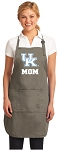 Official Kentucky Wildcats Mom Apron Tan