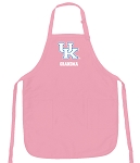 Deluxe University of Kentucky Grandma Apron Pink - MADE in the USA!