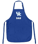 Deluxe Kentucky Wildcats Dad Apron University of Kentucky Dad for Men or Women