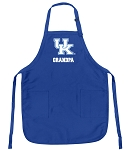Deluxe Kentucky Wildcats Grandpa Apron University of Kentucky Grandpa for Men or Women
