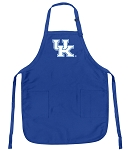 Deluxe Kentucky Wildcats Apron University of Kentucky Logo for Men or Women