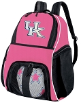Girls University of Kentucky Soccer Backpack or Kentucky Wildcats Volleyball Bag