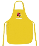University of Louisville Grandpa Apron Yellow - MADE in the USA!