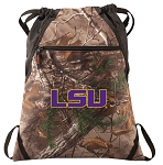 LSU RealTree Camo Cinch Pack