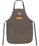 Official LSU Tigers Dad Apron Tan
