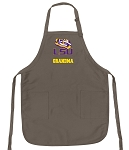 Official LSU Tigers Grandma Apron Tan