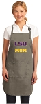 Official LSU Mom Apron Tan