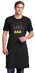 LSU Tigers Dad Large Apron