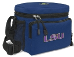 LSU Tigers Lunch Bag Navy Blue