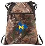 McNeese State RealTree Camo Cinch Pack