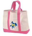 McNeese State Tote Bags Pink