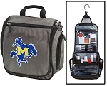 McNeese State Toiletry Bag or Shaving Kit Gray