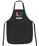 University of Miami Grandpa Apron
