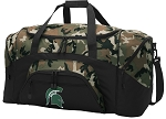 Official Michigan State University Camo Duffel Bags