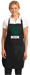 Official Michigan State Mom Apron Black
