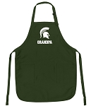 Official Michigan State University Grandpa Apron Michigan State Grandpa