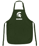 Official Michigan State University Grandma Apron Michigan State Grandma