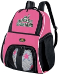 Michigan State Peace Frog Girls Soccer Backpack