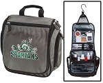 Michigan State Toiletry Bag or Peace Frog Shaving Kit Gray
