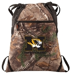 Mizzou RealTree Camo Cinch Pack