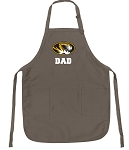 Official MIZZOU Dad Apron Tan