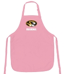 University of Missouri Grandma Apron Pink - MADE in the USA!