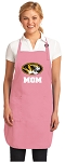 University of Missouri Mom Apron Pink - MADE in the USA!