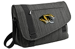 Mizzou Messenger Laptop Bag Stylish Charcoal