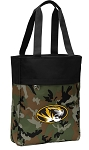 Mizzou Tote Bag Everyday Carryall Camo